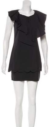RED Valentino Sleevless Mini Dress