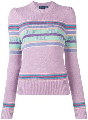 Polo Ralph Lauren striped logo jumper