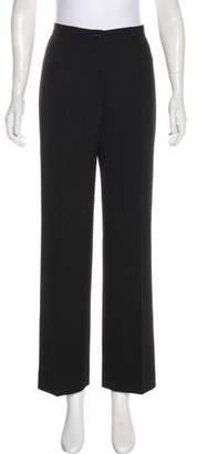Salvatore Ferragamo High-Rise Pinstripe Pants