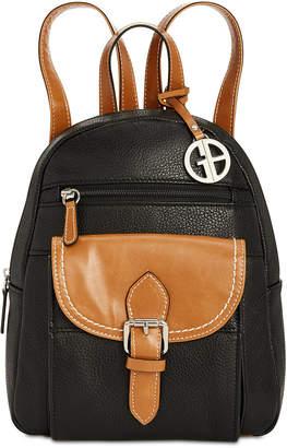 Giani Bernini Pebble Leather Backpack, Created for Macy's