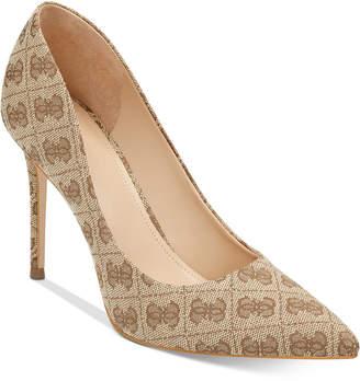 GUESS Women's Braylea Pointy Toe Pumps Women's Shoes