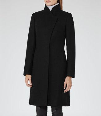 Hutton Wrap-Collar Coat $545 thestylecure.com