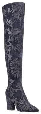 Nine West Siventa Textile Over-The-Knee Boots