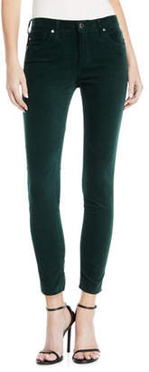 AG Jeans The Legging Velvet Ankle Skinny Pants