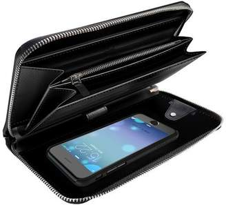 Carte Blanche iPhone Grand Portefeuille Wallet