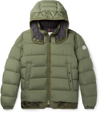 Moncler Tanguy Quilted Shell Down Hooded Jacket