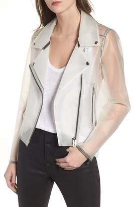 Blank NYC BLANKNYC Plastic Moto Jacket
