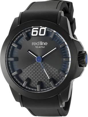 Redline Red Line Men's ' Zone' Quartz Stainless Steel Casual Watch (Model: RL-305-BB-01-BLA)