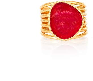 Christina Greene - Stackable Ring in Red Quartz