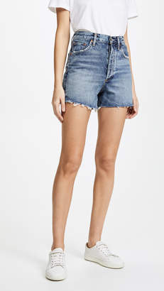 A Gold E AGOLDE The Dee Ultra High Rise Shorts