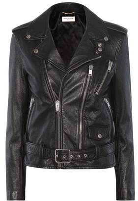Saint Laurent Signature L17 leather motorcycle jacket