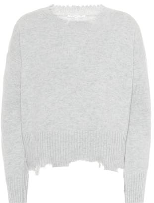 Helmut Lang Grunge wool and cashmere sweater
