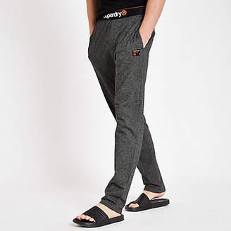 River Island Superdry grey loungewear trousers