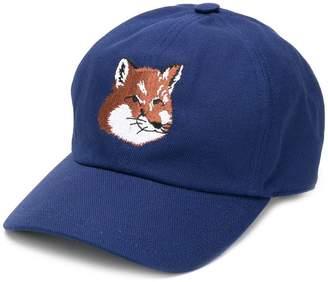 MAISON KITSUNÉ fox logo baseball cap