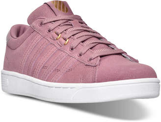K-Swiss Women's Hoke Fantasy Suede CMF Casual Sneakers from Finish Line $59.99 thestylecure.com