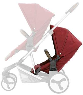 babystyle Hybrid Tandem Seat, Lava Red
