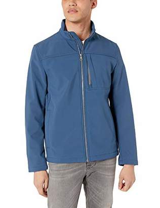 Calvin Klein Men's Angle Placket Soft Shell Jacket