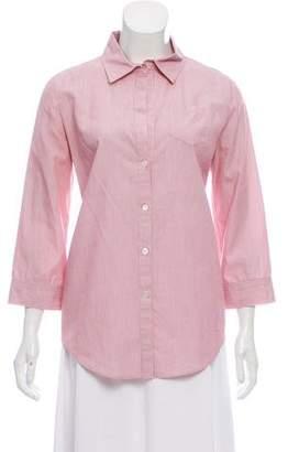 Elizabeth and James Pinstripe Button-Up Shirt