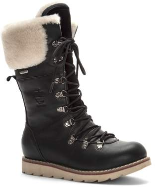 Royal Canadian Yellow Knife Waterproof Snow Boot with Genuine Shearling Cuff