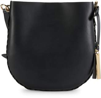 Vince Camuto Leather Bucket Crossbody Bag