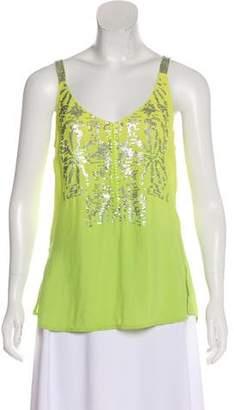 Yoana Baraschi Embellished Sleeveless Top