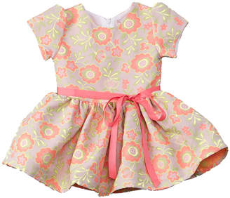 Halabaloo Girls' Jacquard Dress