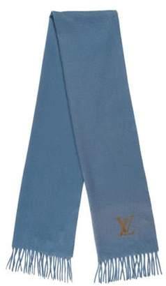Louis Vuitton Fringe-Trimmed Cashmere Scarf Fringe-Trimmed Cashmere Scarf