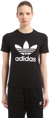 adidas Logo Cotton Jersey T-Shirt