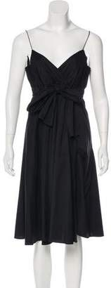 Diane von Furstenberg Jolie Sleeveless Midi Dress