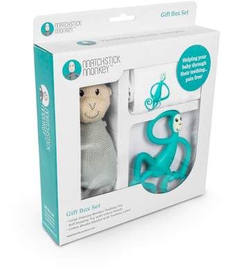 Baby Essentials Matchstick Monkey Teething Gift Set