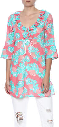 Mud Pie Sea Shell Cover Up $36.99 thestylecure.com