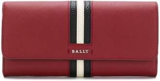 Bally front striped square purse