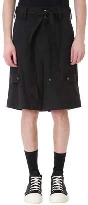 Damir Doma Pasio Black Cotton Shorts