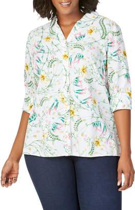 Foxcroft Maria Botanical Shirt