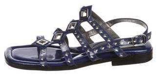 Marc by Marc Jacobs Patent Leather Embellished Sandals