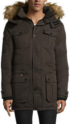 CANADA WEATHER GEAR Canada Weather Gear Heavyweight Parka With Removable Fur Trim on Hood