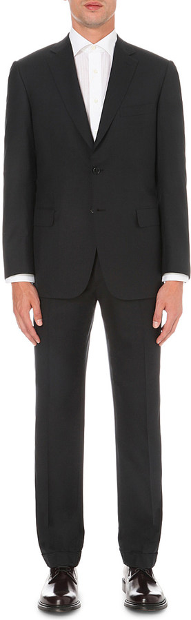 Brioni Brioni Slim-fit wool suit