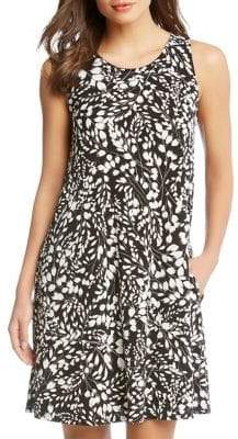 Karen Kane Chloe Abstract-Print Dress