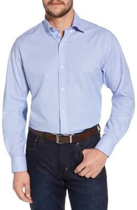 Tailorbyrd Amir Regular Fit Houndstooth Sport Shirt