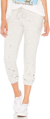Chaser Relaxed Paint Splatter Lounge Pant
