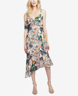 Rachel Roy Ruffled Asymmetrical Dress