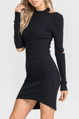 Factory Unknown Black Sweater Dress