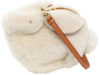 Loewe Bunny Shearling Shoulder Bag