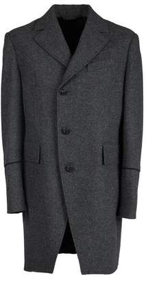 Pretty Green Button Up Single Breasted Coat