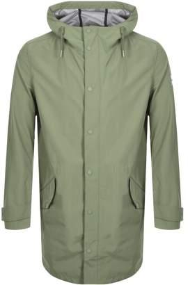 Farah Erskine Hooded Jacket Green