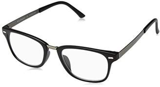 6782b03499bf A. J. Morgan A.J. Morgan Unisex-Adult Corporal - Power 1.00 39004 Rectangular  Reading Glasses