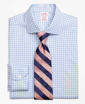 Brooks Brothers Madison Classic-Fit Dress Shirt, Non-Iron Bold Shadow Check