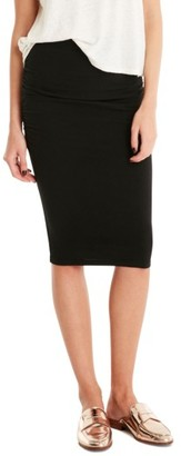 Women's Michael Stars Ruched Pencil Skirt $78 thestylecure.com