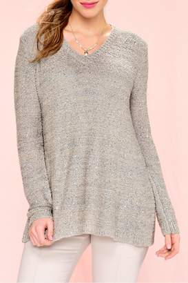 Paige Charlie Sequinned Knit Sweater