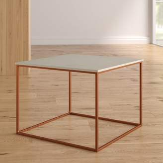 Florian Brayden Studio Marble and Metal Coffee Table